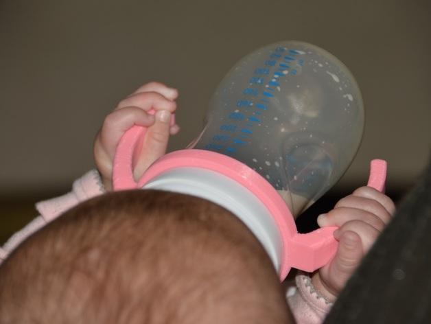 飞利浦奶瓶手柄 3D模型  图1