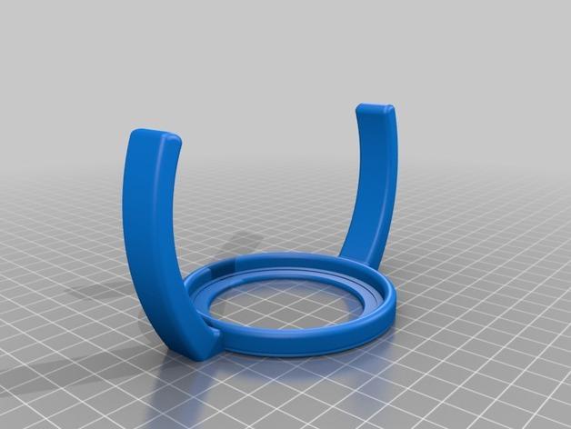 飞利浦奶瓶手柄 3D模型  图3
