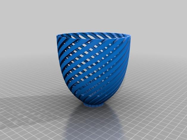 经典螺旋灯罩2 3D模型  图3