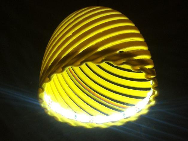 经典螺旋灯罩2 3D模型  图6