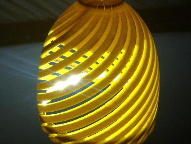 经典螺旋灯罩2 3D模型  图5
