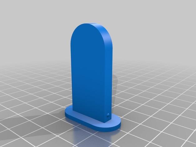 雪糕形储物盒 3D模型  图2