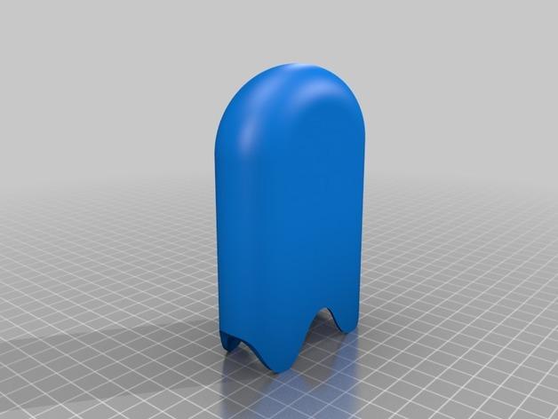 雪糕形储物盒 3D模型  图4