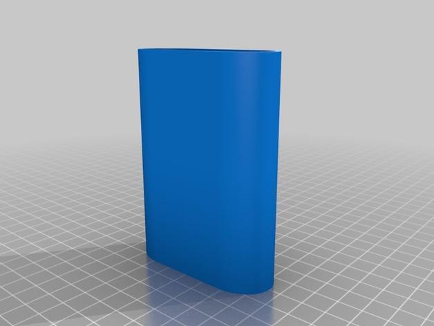 雪糕形储物盒 3D模型  图3