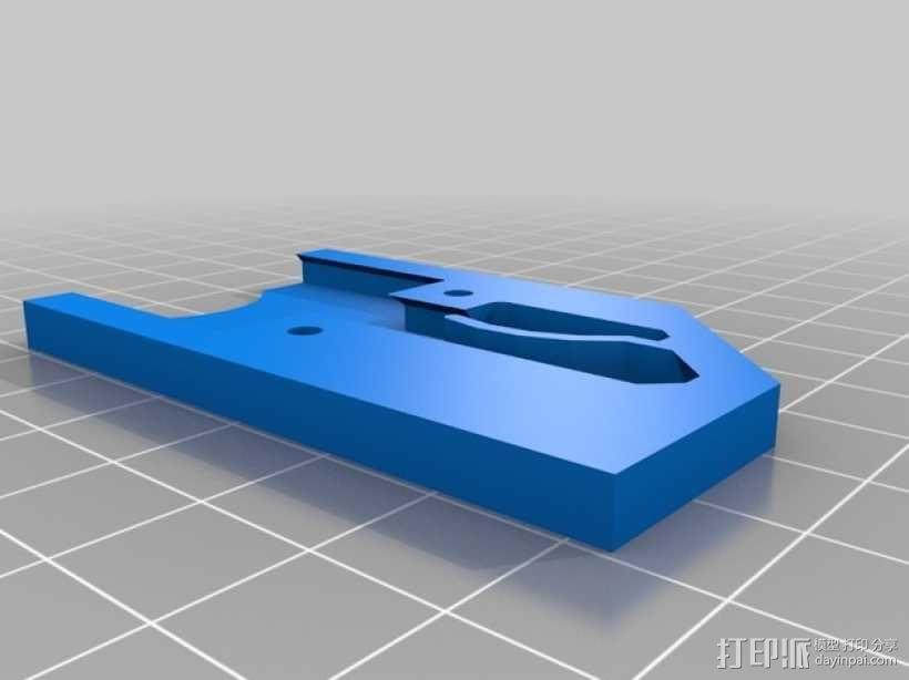 迷你万能钥匙盒 3D模型  图2