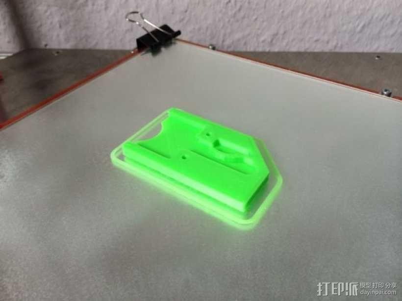 迷你万能钥匙盒 3D模型  图4