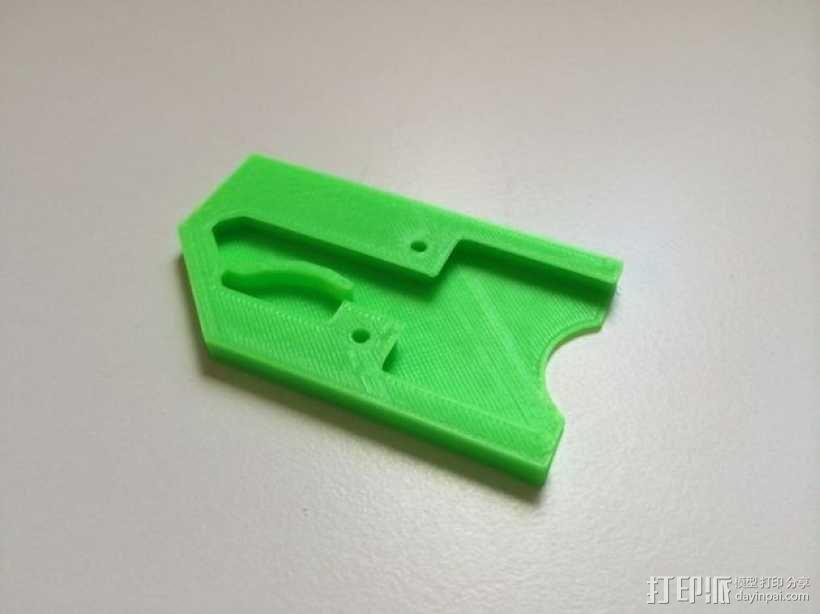 迷你万能钥匙盒 3D模型  图3