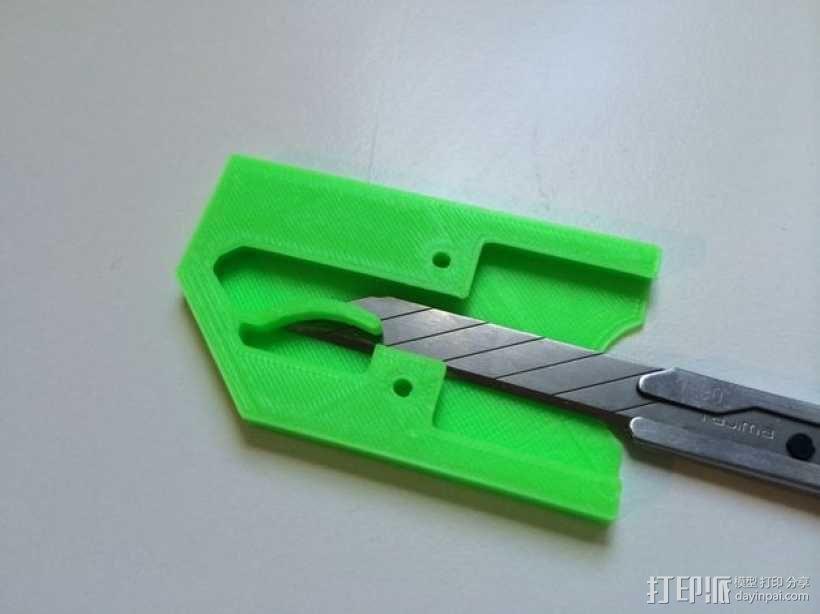 迷你万能钥匙盒 3D模型  图7