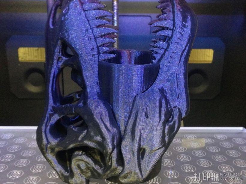 霸王龙笔筒/牙签筒 3D模型  图4