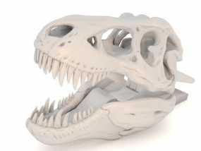 恐龙形衣夹 3D模型