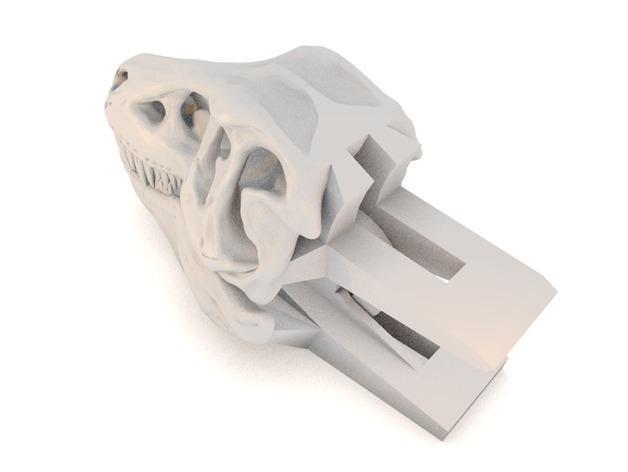 恐龙形衣夹 3D模型  图4