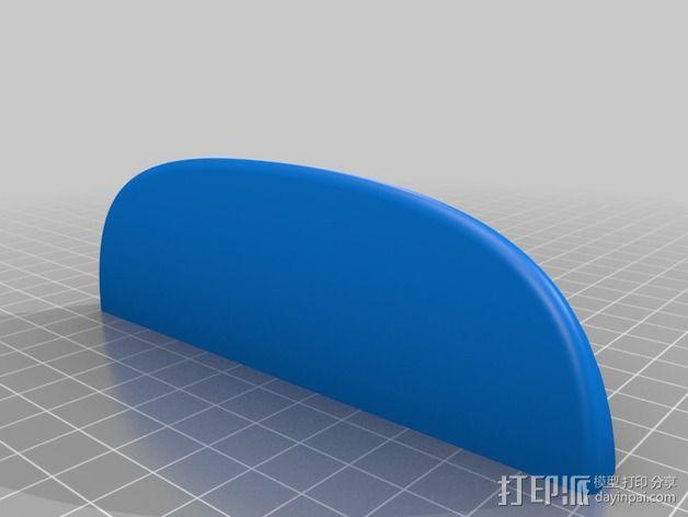 迷你圆形架子 3D模型  图4