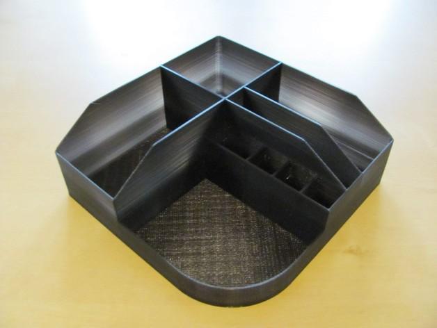 迷你桌面式规整架 3D模型  图2