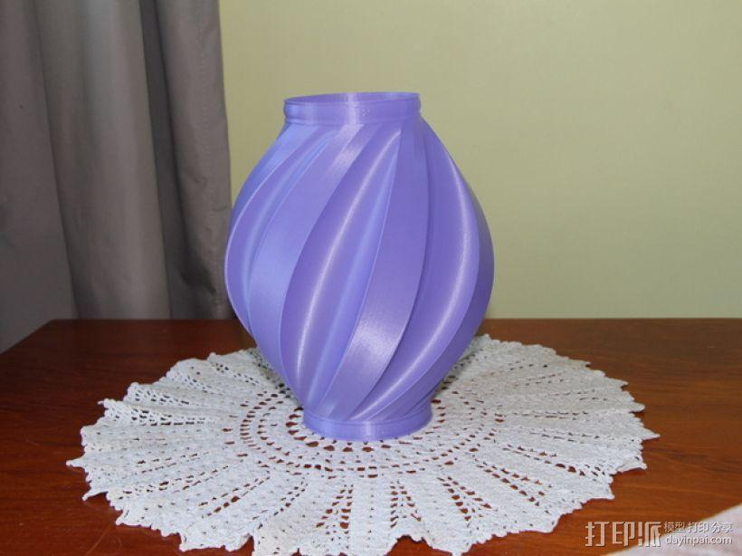 螺旋式花瓶 3D模型  图1