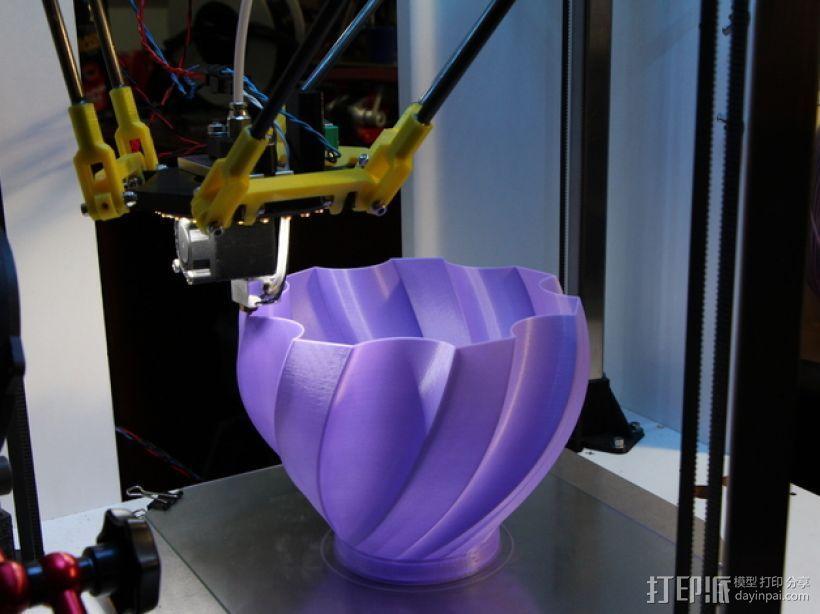 螺旋式花瓶 3D模型  图4