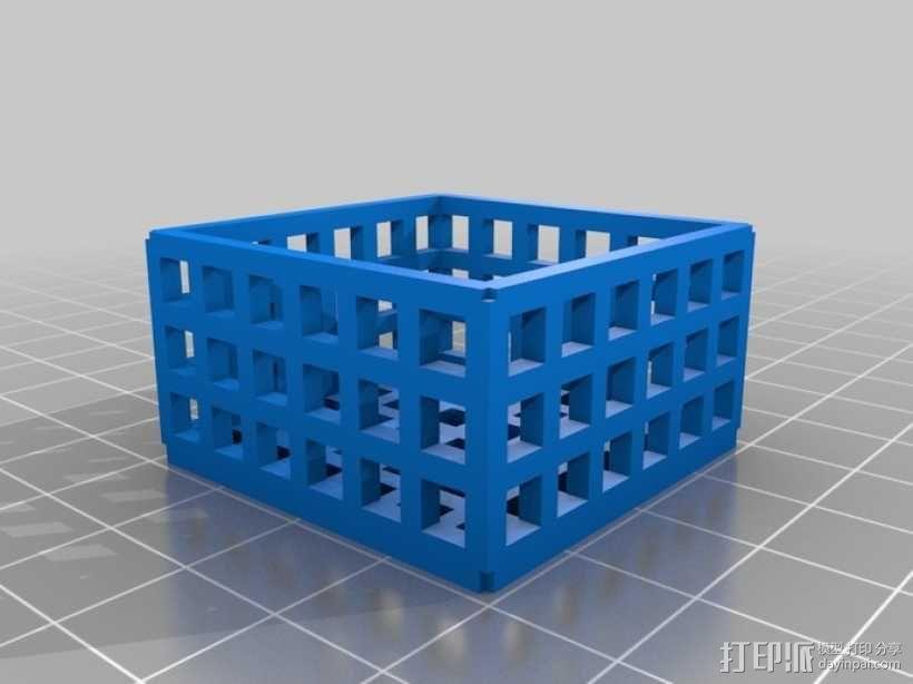 方形镂空容器 3D模型  图6