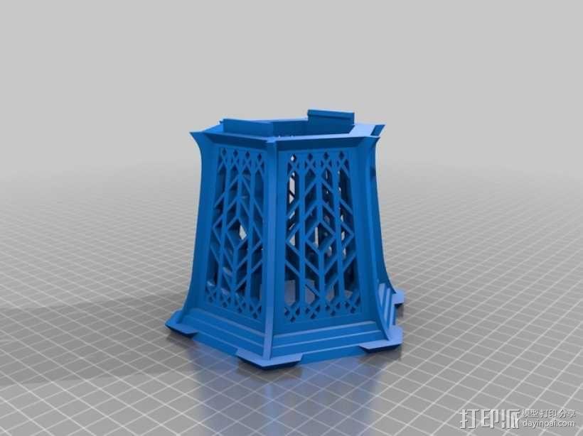 传统中式灯笼2 3D模型  图4