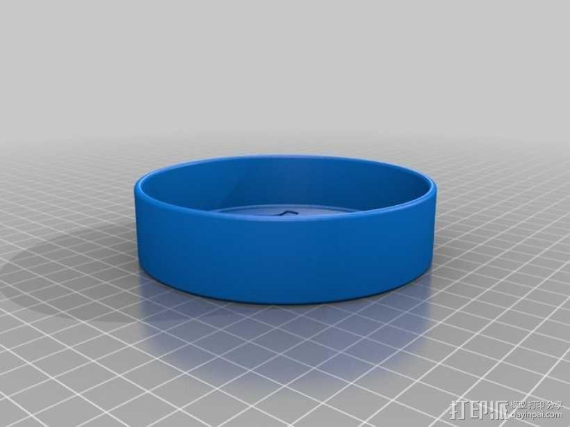迷你猫咪饮水盆 3D模型  图6