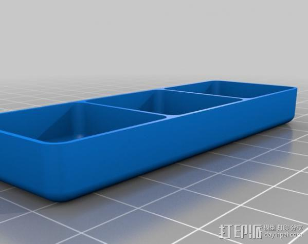 定制化迷你方形/圆形托盘 3D模型  图6