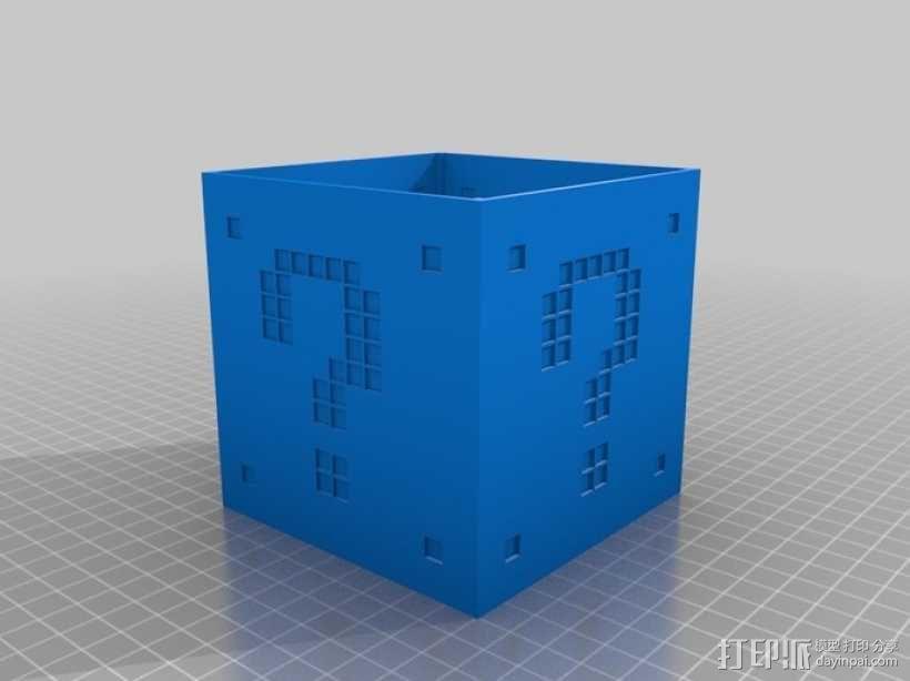 迷你立方体LED灯罩 3D模型  图5