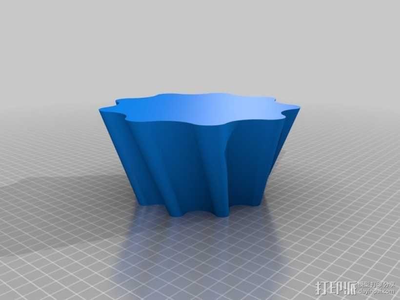 迷你饼干盒 3D模型  图2