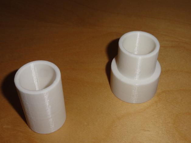 简易软管配适器 3D模型  图1