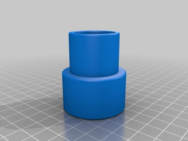简易软管配适器 3D模型  图3