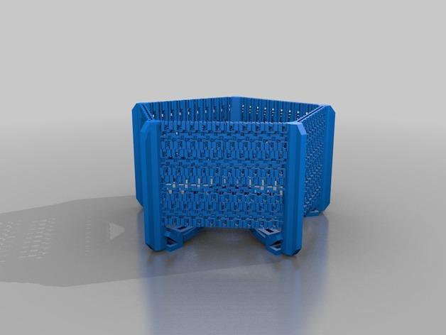 五边形灯罩/光笼15b 3D模型  图3
