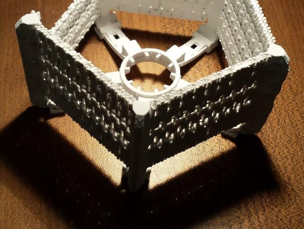 五边形灯罩/光笼15b 3D模型  图2