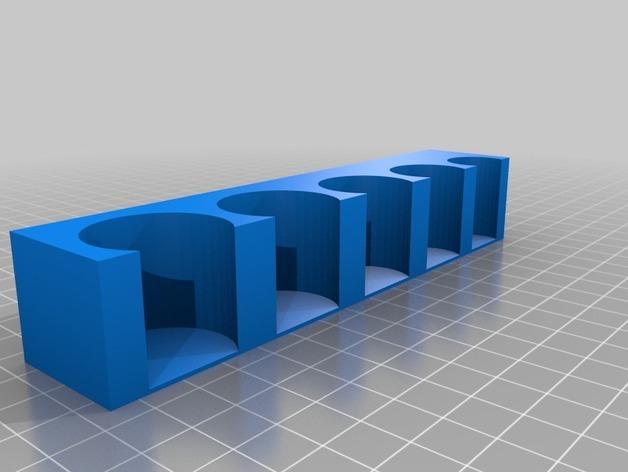 手动式钱币清分机 3D模型  图2