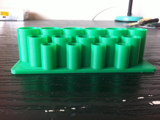 迷你电池盒 3D模型  图1