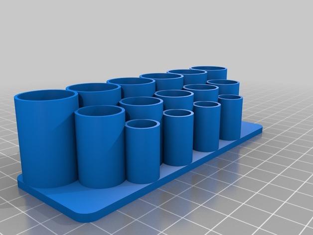 迷你电池盒 3D模型  图2