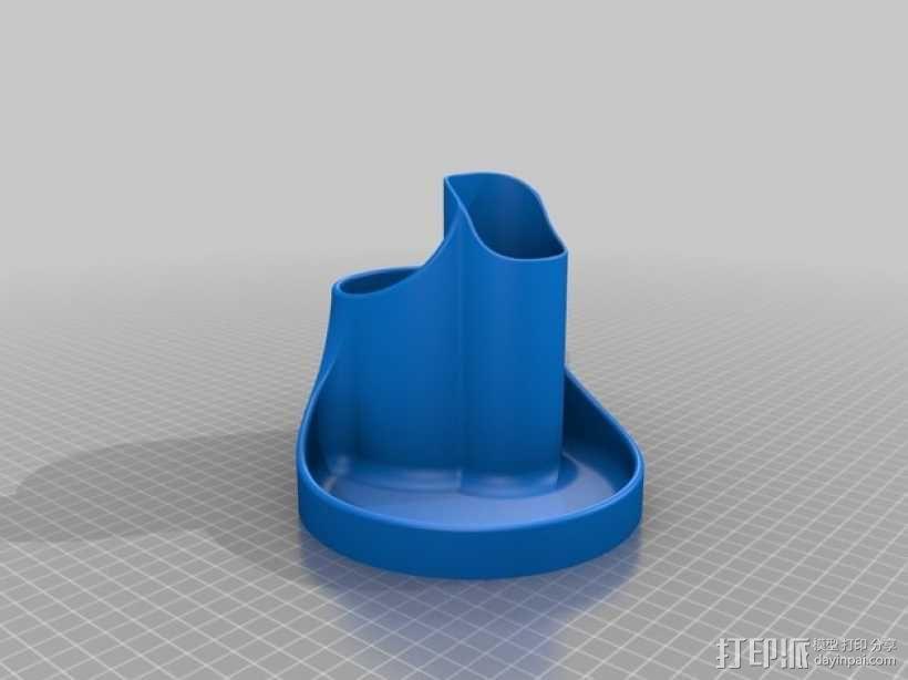 桌面规整架 3D模型  图2