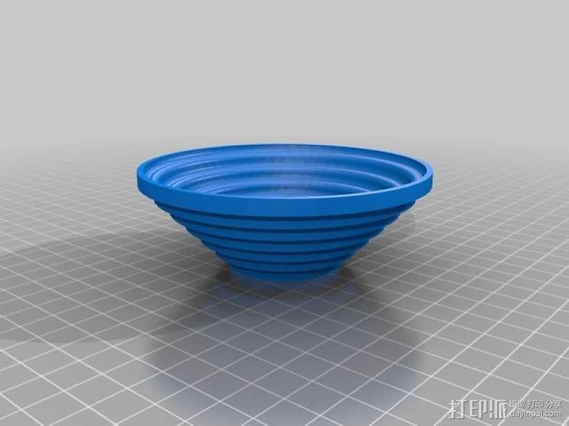 矩形碗/圆形碗 3D模型  图2