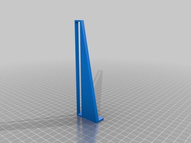 壁挂式iPad架 3D模型  图3