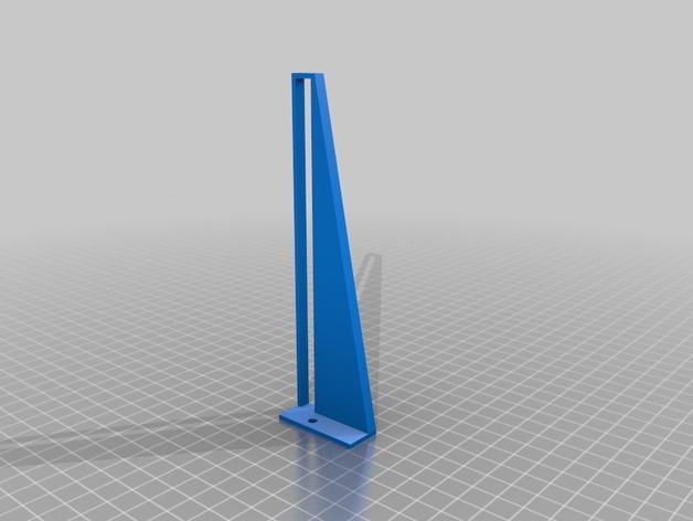 壁挂式iPad架 3D模型  图4