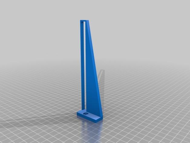 壁挂式iPad架 3D模型  图5