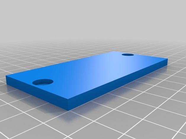 壁挂式iPad架 3D模型  图6
