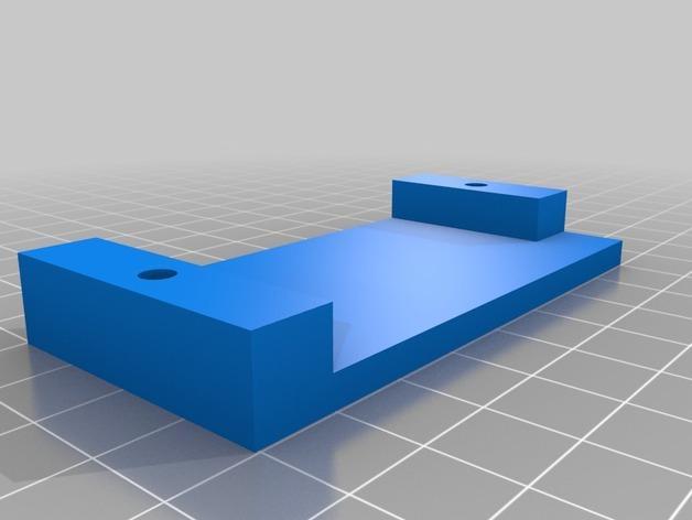 壁挂式iPad架 3D模型  图9