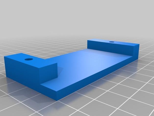 壁挂式iPad架 3D模型  图10