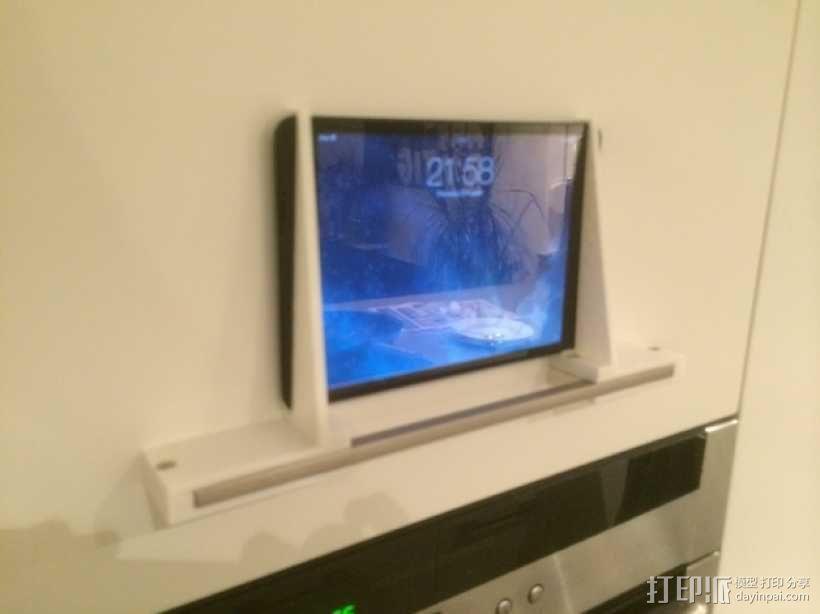 壁挂式iPad架 3D模型  图11