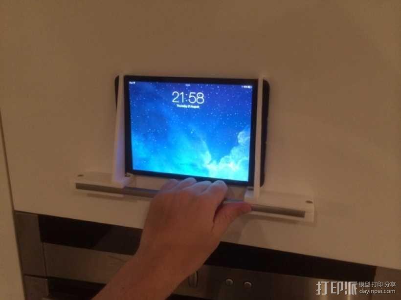 壁挂式iPad架 3D模型  图12
