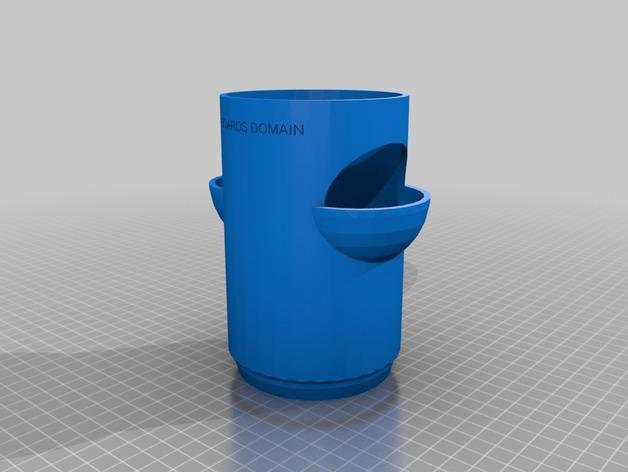 """迷你植物""""塔"""" 3D模型  图3"""