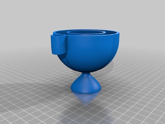 迷你多功能蛋杯 3D模型  图2