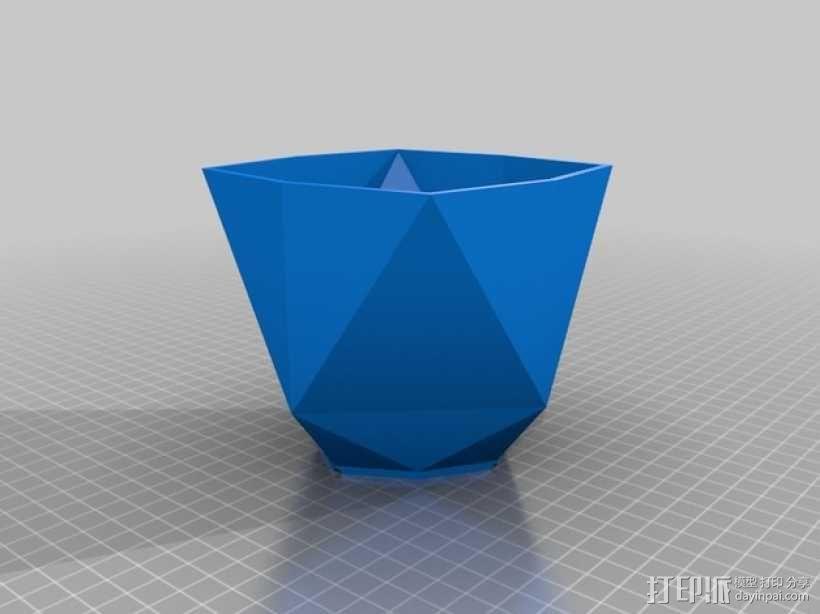 几何形花瓶 3D模型  图6