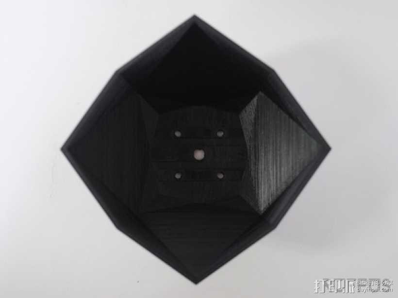 几何形花瓶 3D模型  图5
