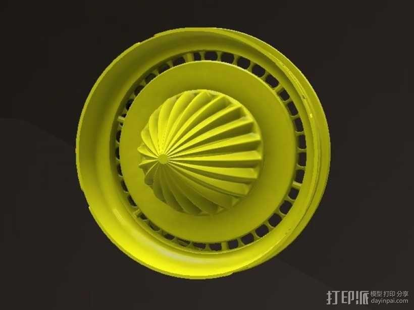 橘子/柠檬榨汁机 3D模型  图1