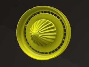 橘子/柠檬榨汁机 3D模型