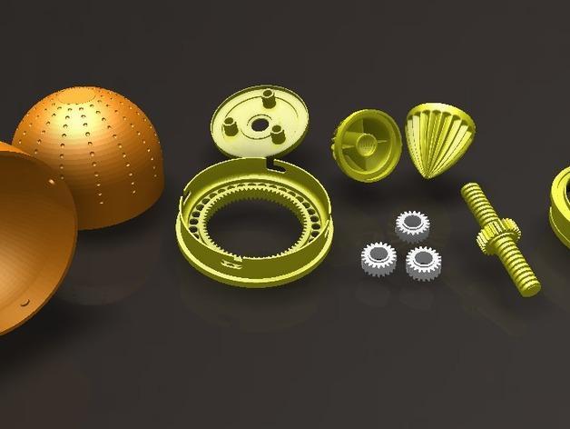 橘子/柠檬榨汁机 3D模型  图13