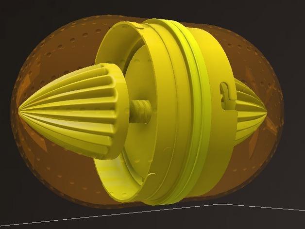 橘子/柠檬榨汁机 3D模型  图14